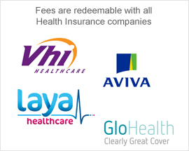 Fees are redeemable with all health insurance companies